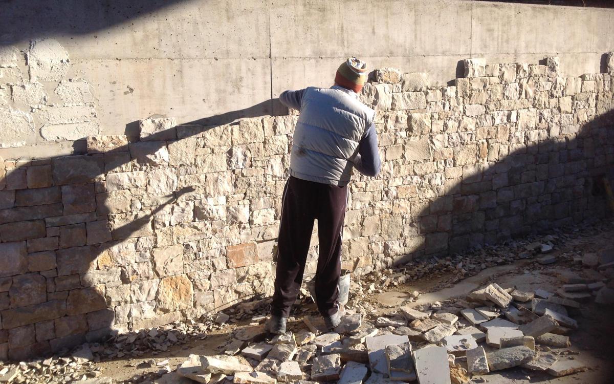 Pietre naturali basso spessore o sottili per interni ed - Spessore muri interni ...